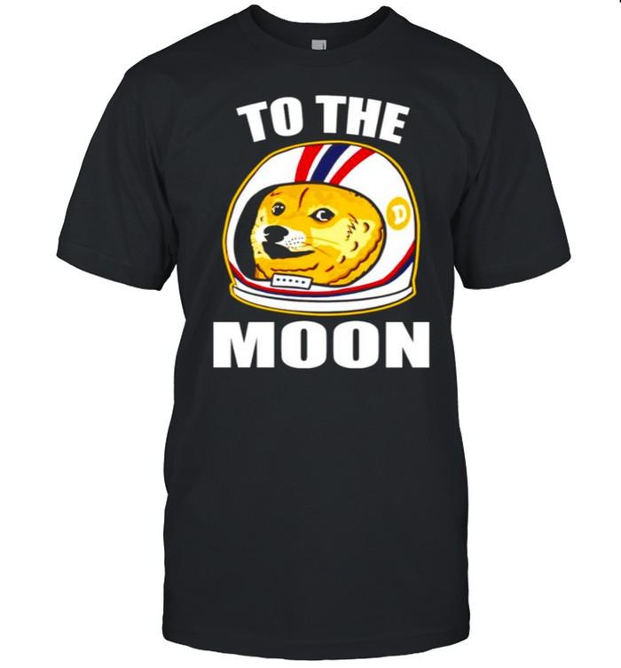 Dogecoin to The Moon shirt Classic Men's T-shirt