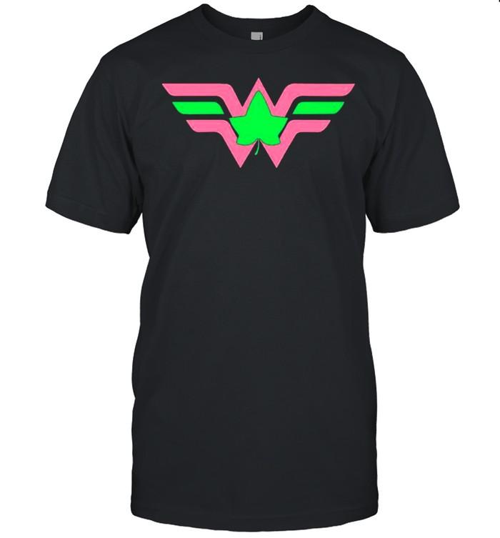 Mulher Maravilha Patrick's Day shirt Classic Men's T-shirt