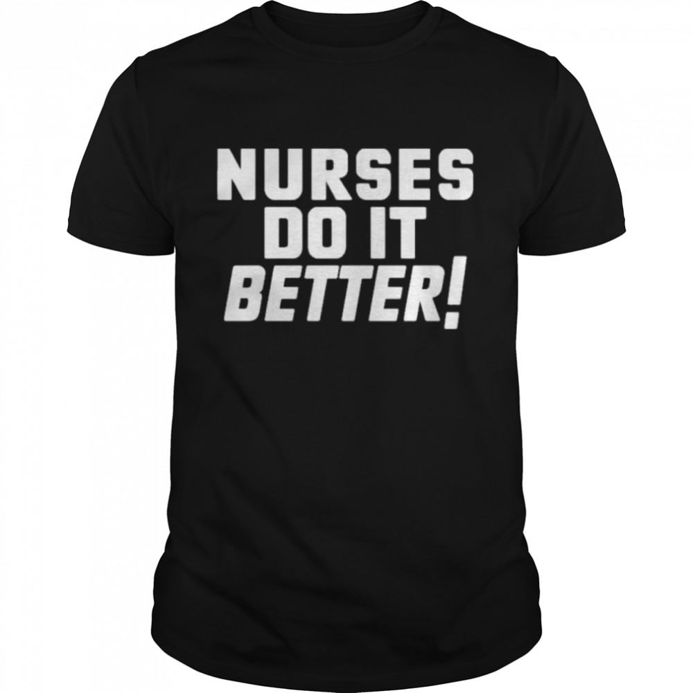 Nurses do it better led Zeppelin robert plant shirt Classic Men's