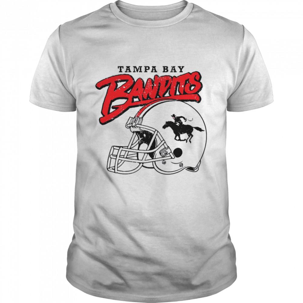 Tampa Bay Bandits Helmet 2021 shirt Classic Men's
