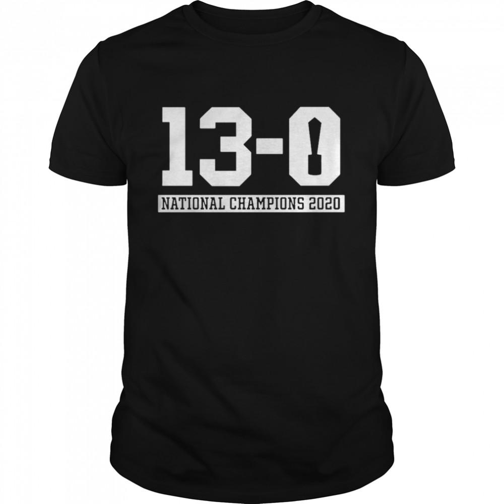 13 Alabama National Champions 2021 shirt Classic Men's