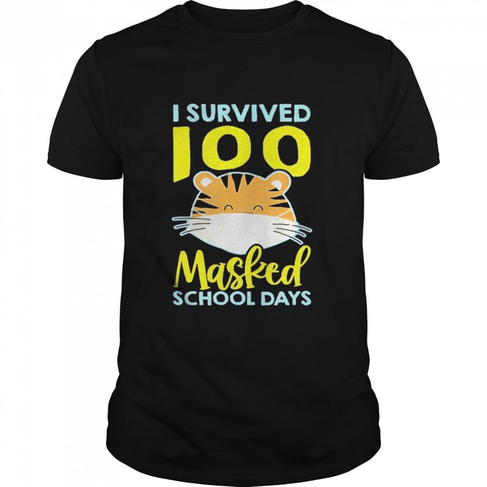 I Survived 100 Masked School Days shirt Classic Men's
