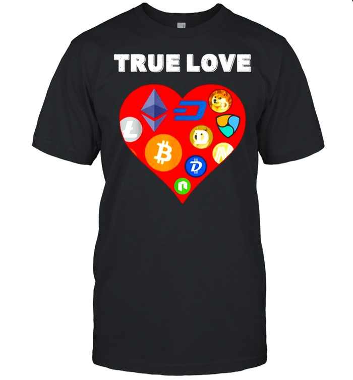 Valentines Day Crypto shirt Classic Men's T-shirt