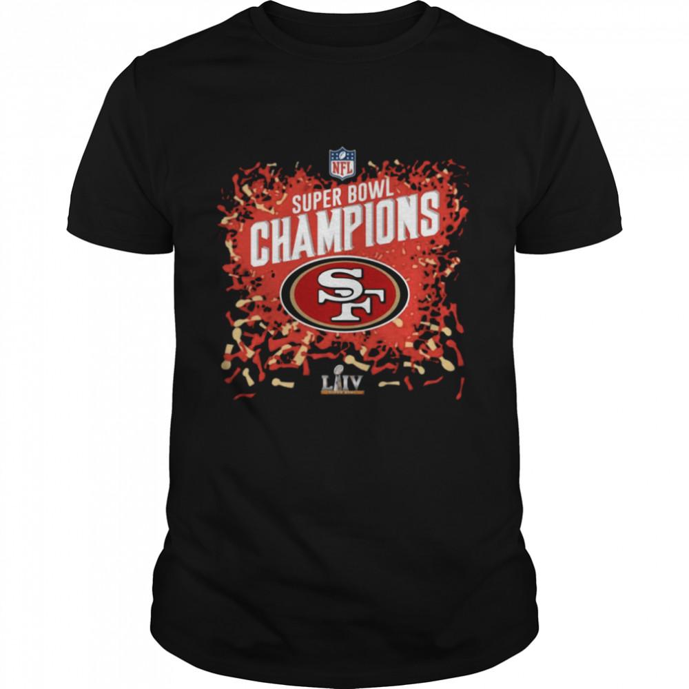 San Francisco 49ers super bowl Champions shirt Classic Men's
