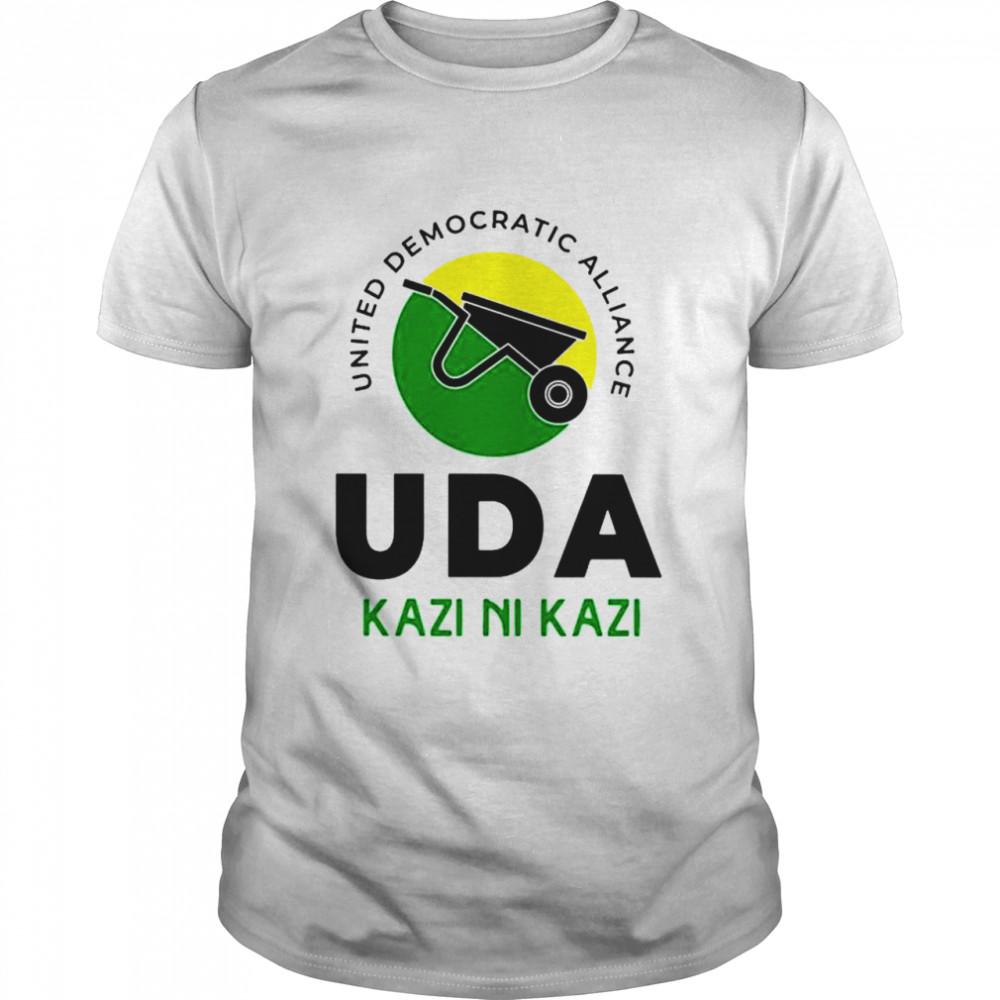 United democratic alliance uda kazi ni kazi shirt Classic Men's