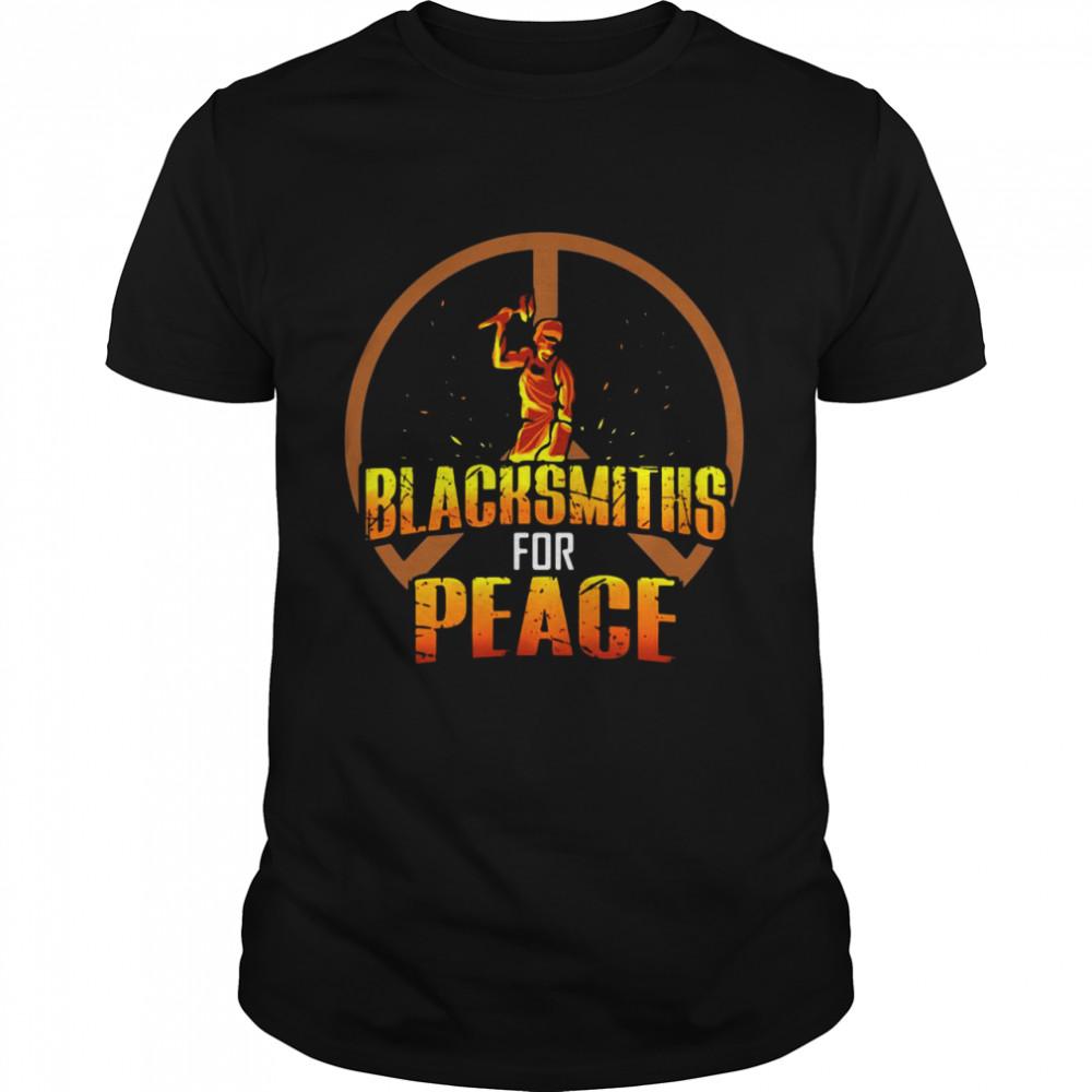 Blacksmiths For Peace shirt Classic Men's