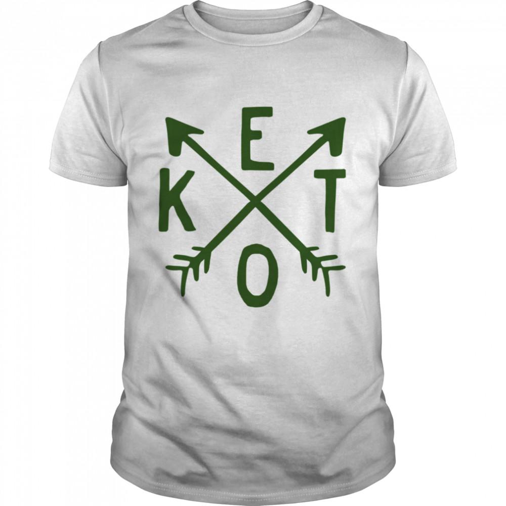 Keto Arrow Bacon Coffee shirt Classic Men's