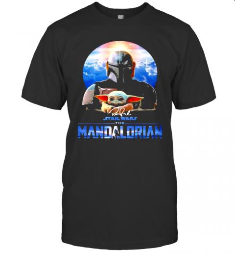 Signature Star Wars The Mandalorian Yoda shirt Classic Men's