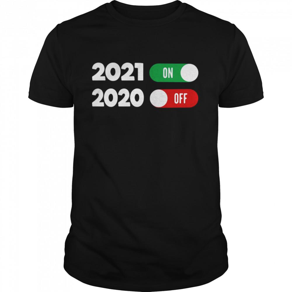 New Years Eve Happy New Year 2021 shirt Classic Men's