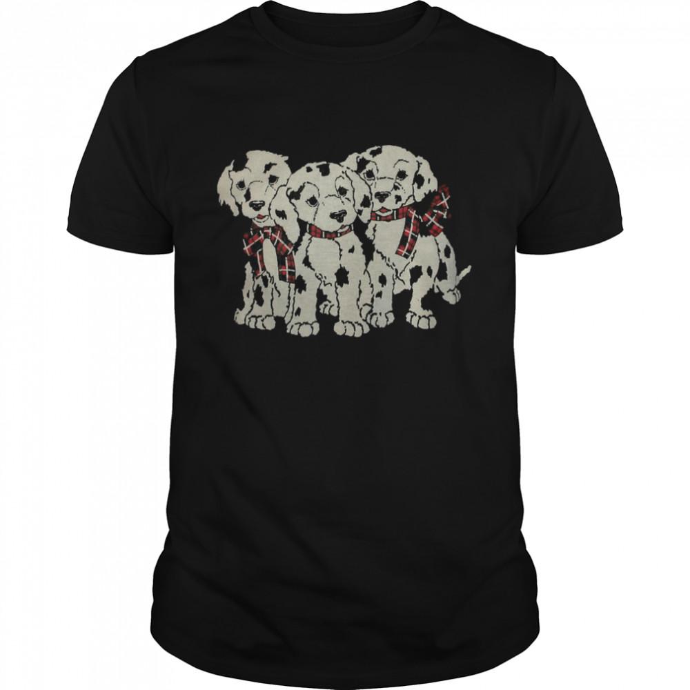 Depop Vintage Dalmatian Puppies shirt Classic Men's