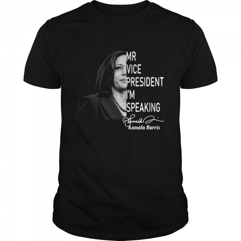 Mr Vice President Im Speaking Biden Harris Debate 2020 shirt Classic Men's