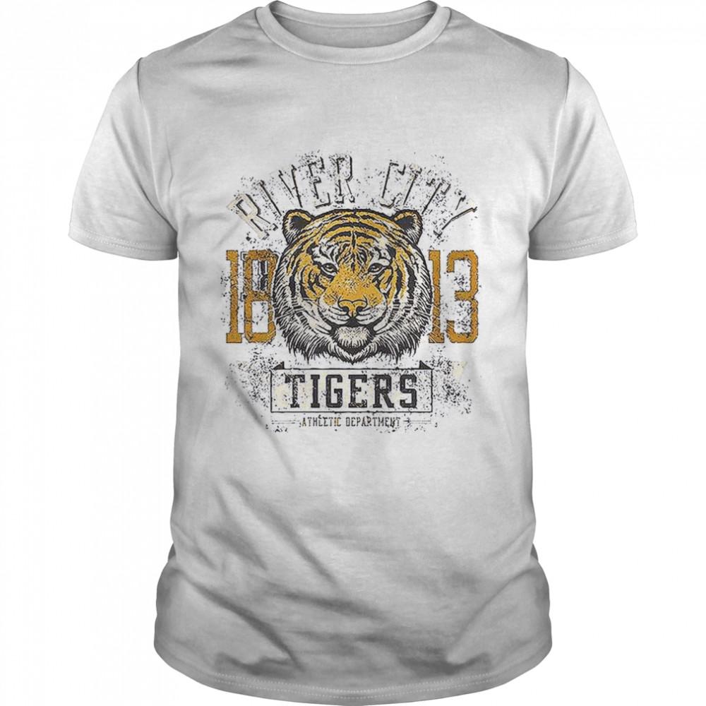 River City 1813 Tigers Athletic Department shirt Classic Men's
