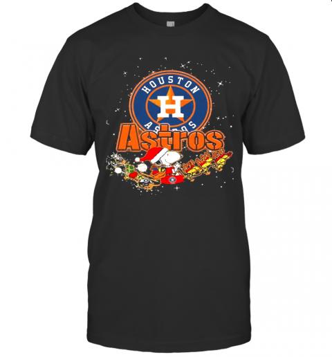 Houston Astros Snoopy Christmas shirt Classic Men's