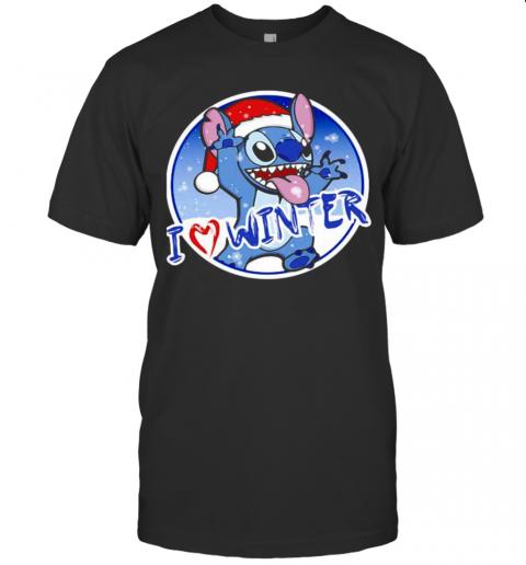 I Love Winner Stitch Wear Santa Hat Xmas shirt Classic Men's