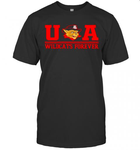 Ua Wildcats Forever Association Hat Black shirt Classic Men's