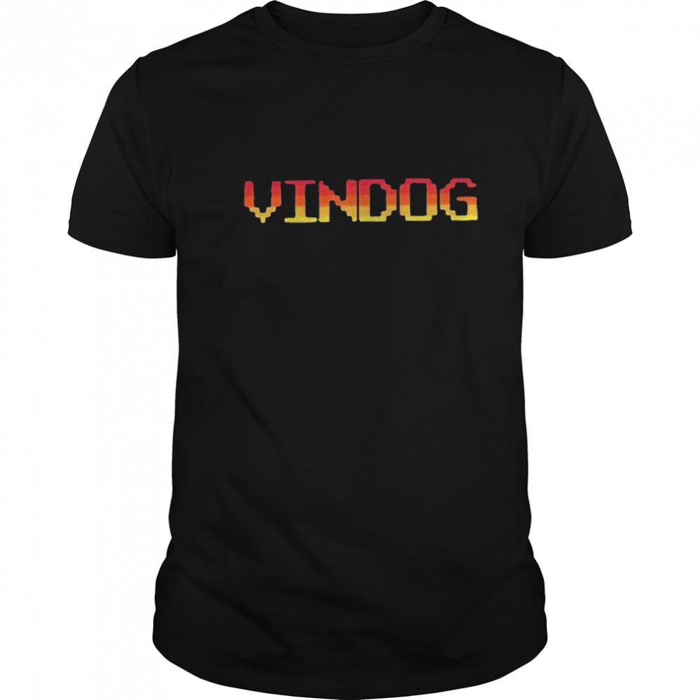 Vindog Retro Tee shirt Classic Men's