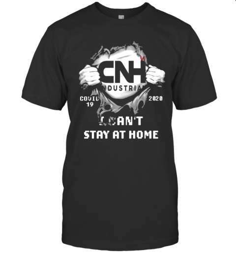 Blood Inside Me CNH Industrial Covid 19 2020 I Cant Stay At Home shirt Classic Men's