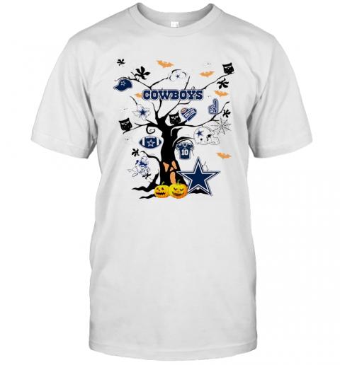 Dallas Cowboys Halloween Tree shirt Classic Men's