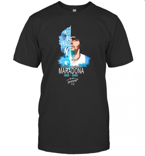 Diego Maradona Argentina Legend Rest In Peace shirt Classic Men's