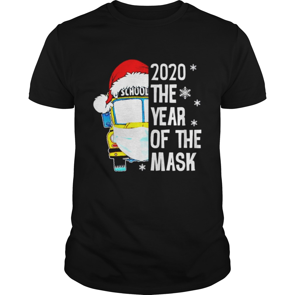 Bus School 2020 the year of the mask Christmas shirt Classic Men's