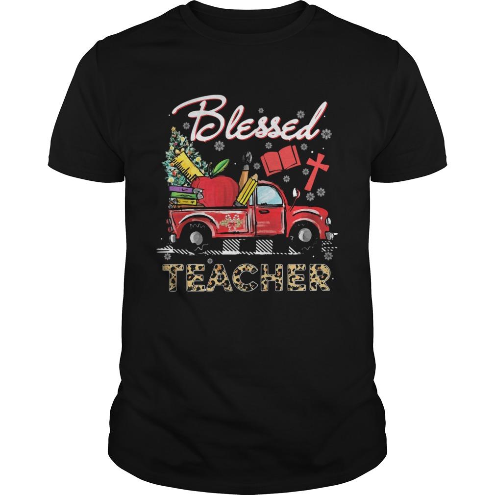 Blessed Teacher Car shirt Classic Men's