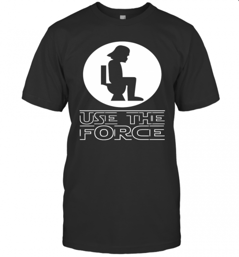 Darth Vader Toilet Use The Force shirt Classic Men's