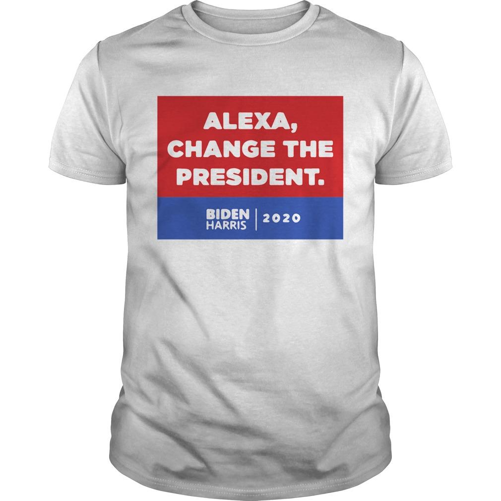 Alexa Change The President Biden Harris 2020 shirt Classic Men's