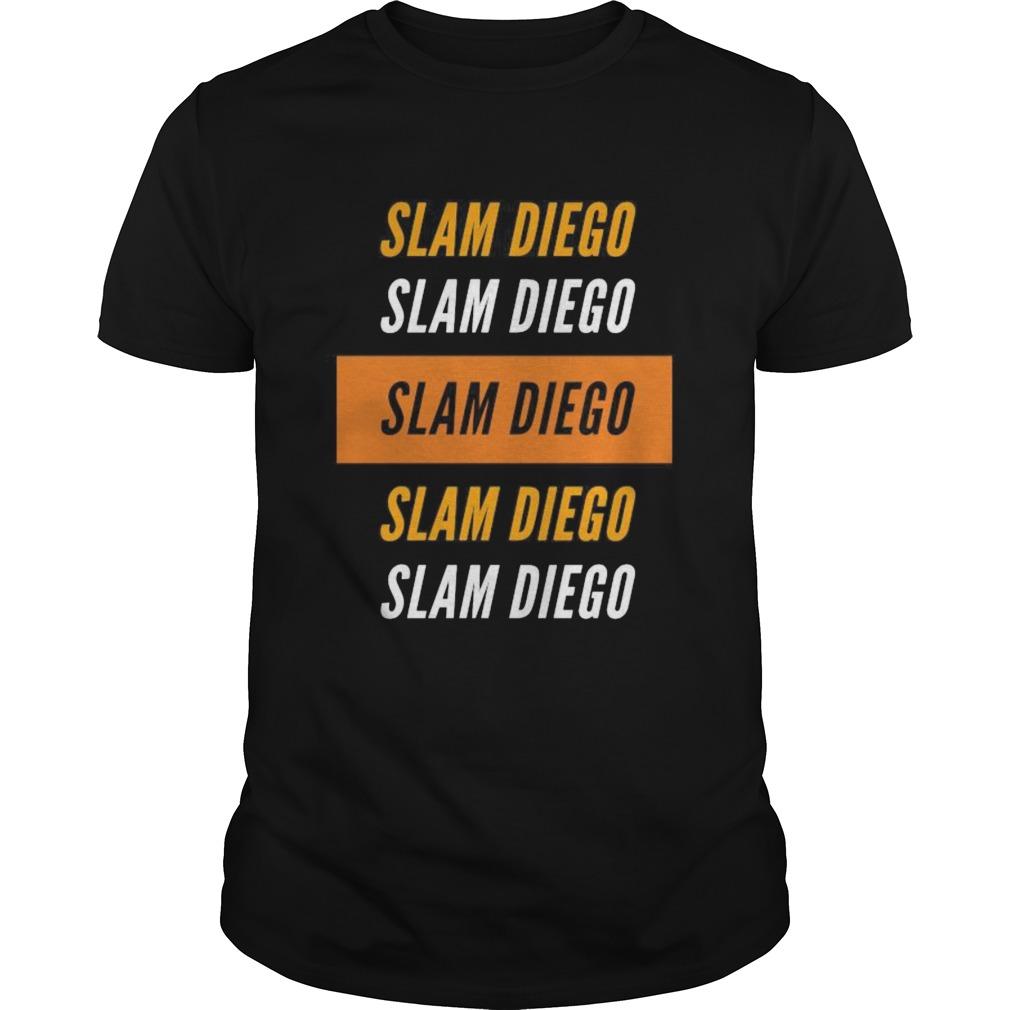 Slam diego padres baseball vintage shirt Classic Men's