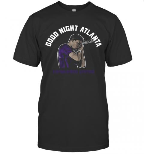 Good Night Atlanta shirt Classic Men's