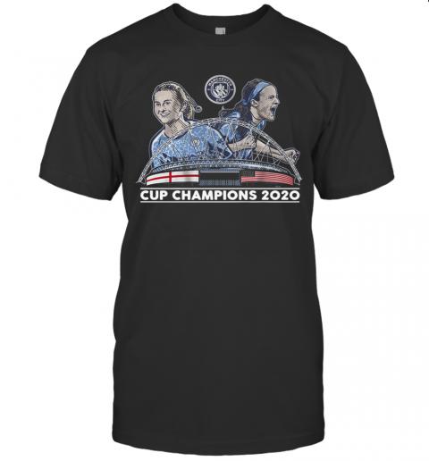 Lavelle Mewis Man City 2020 Cup Champions shirt Classic Men's