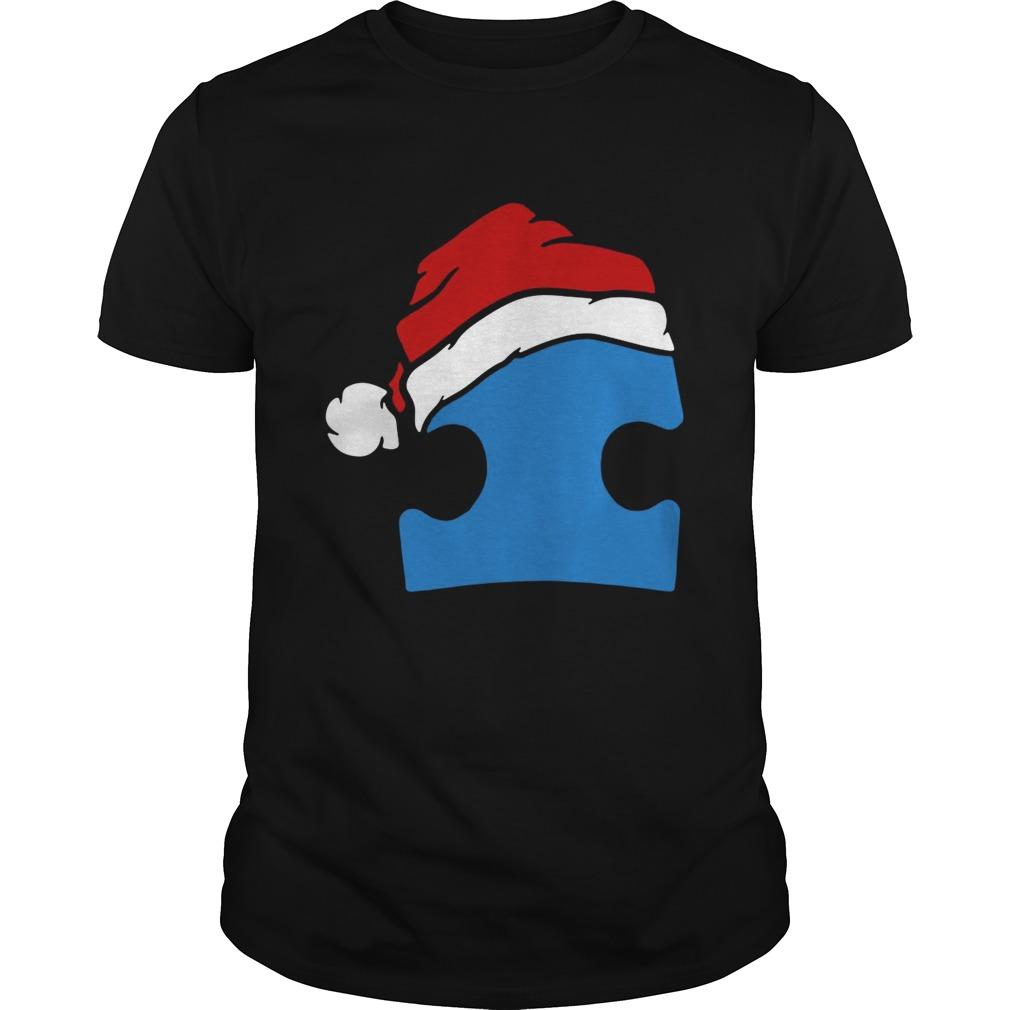 Santa Autism Christmas shirt Classic Men's