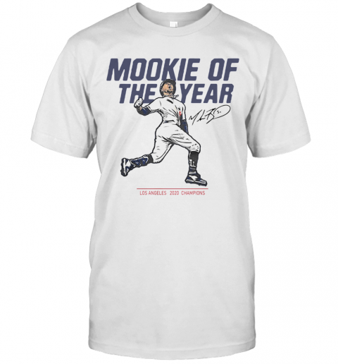Mookie Of The Year Los Angeles 2020 Chapions shirt Classic Men's