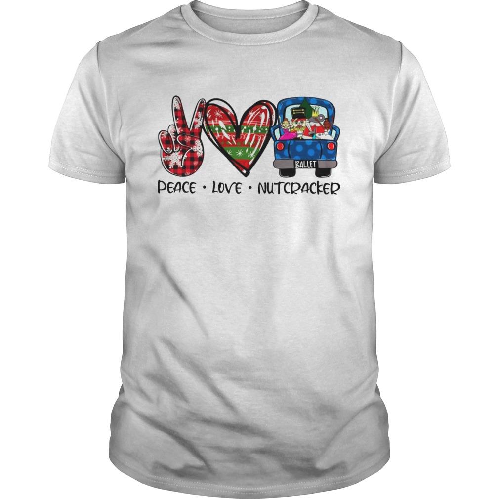 Peace Love Nutcracker Merry Christmas shirt Classic Men's