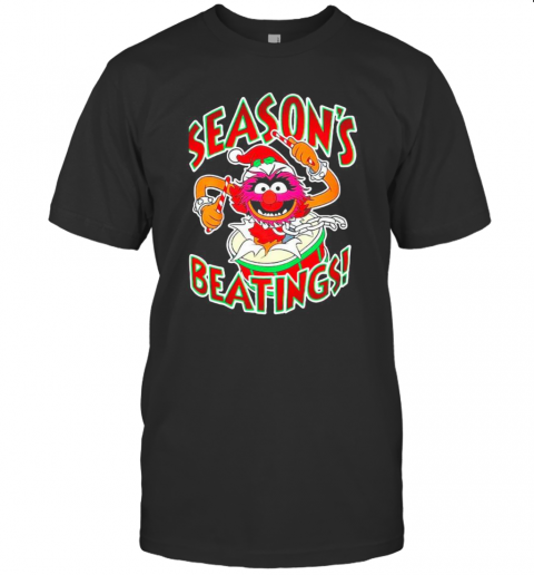 The Muppets Drummer Season'S Beatings shirt Classic Men's