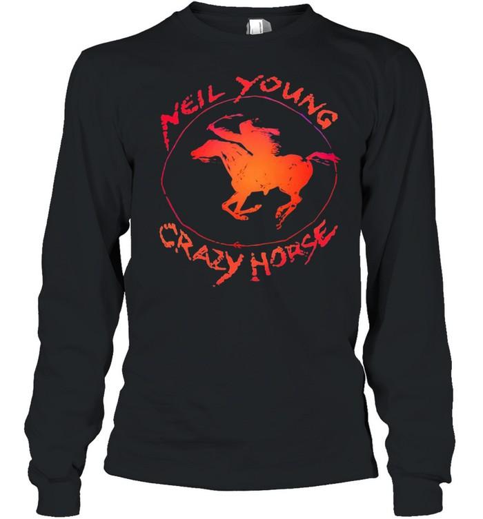 Neil Young crazy horse shirt Long Sleeved T-shirt