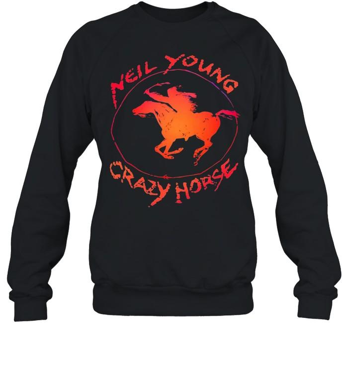 Neil Young crazy horse shirt Unisex Sweatshirt