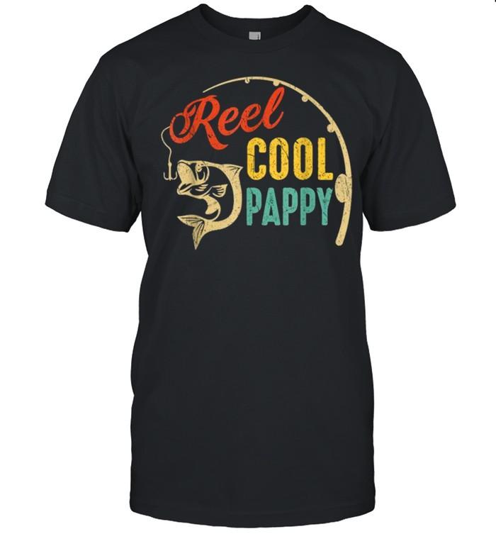 Vintage Fishing Reel Cool Pappy shirt Classic Men's T-shirt