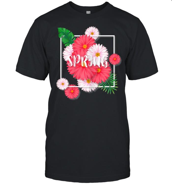 Spring Summer Flower floral shirt Classic Men's T-shirt