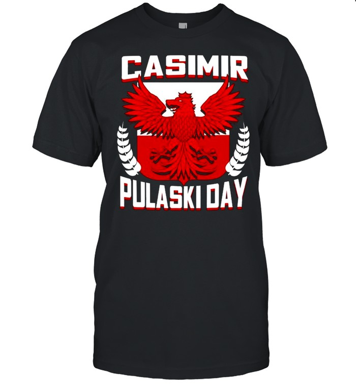 Casimir Pulaski Day Polish Eagle shirt Classic Men's T-shirt