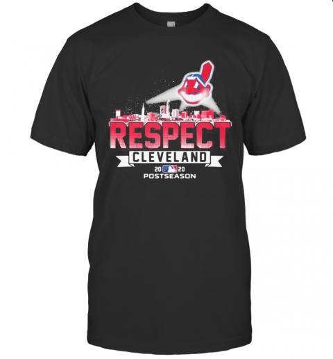 Cleveland Indians Logo Respect Postseason 2020 shirt Classic Men's