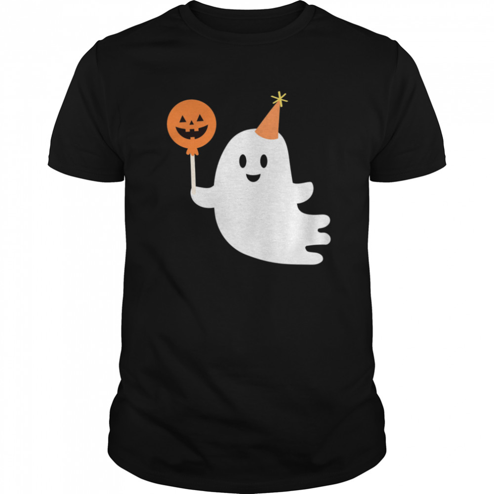 Cute Ghost With Candy Halloween Day 2020 shirt Classic Men's
