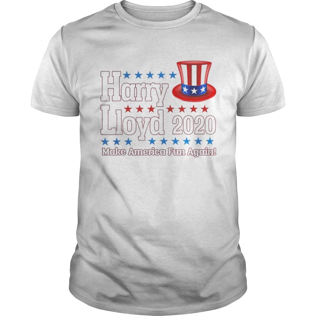Harry Lloyd 2020 Patriotic Election Funny Dumb Dumber shirt Classic Men's