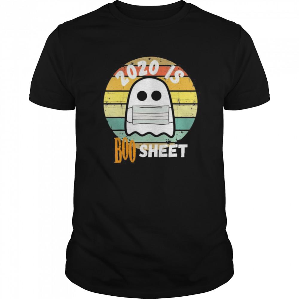 2020 Is Boo Sheet Ghost Halloween shirt Classic Men's