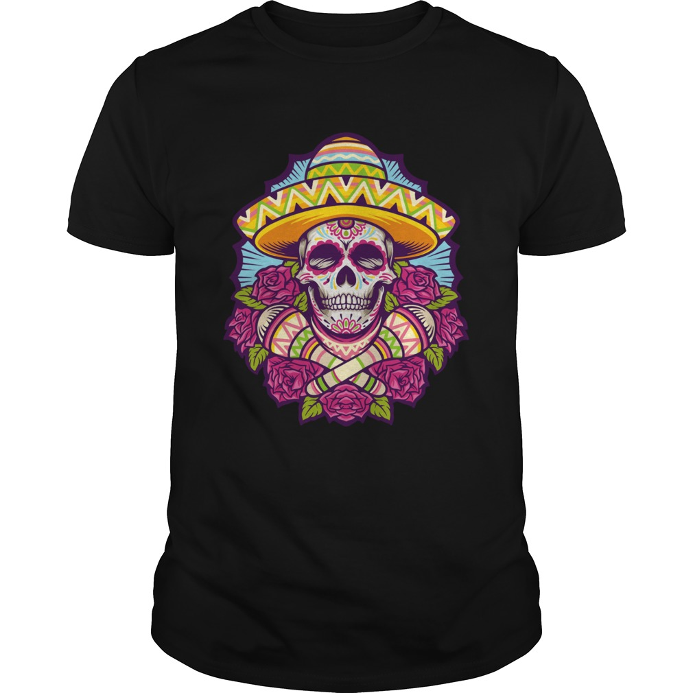 Skull Cindo Mayo Mexican Holiday shirt Classic Men's