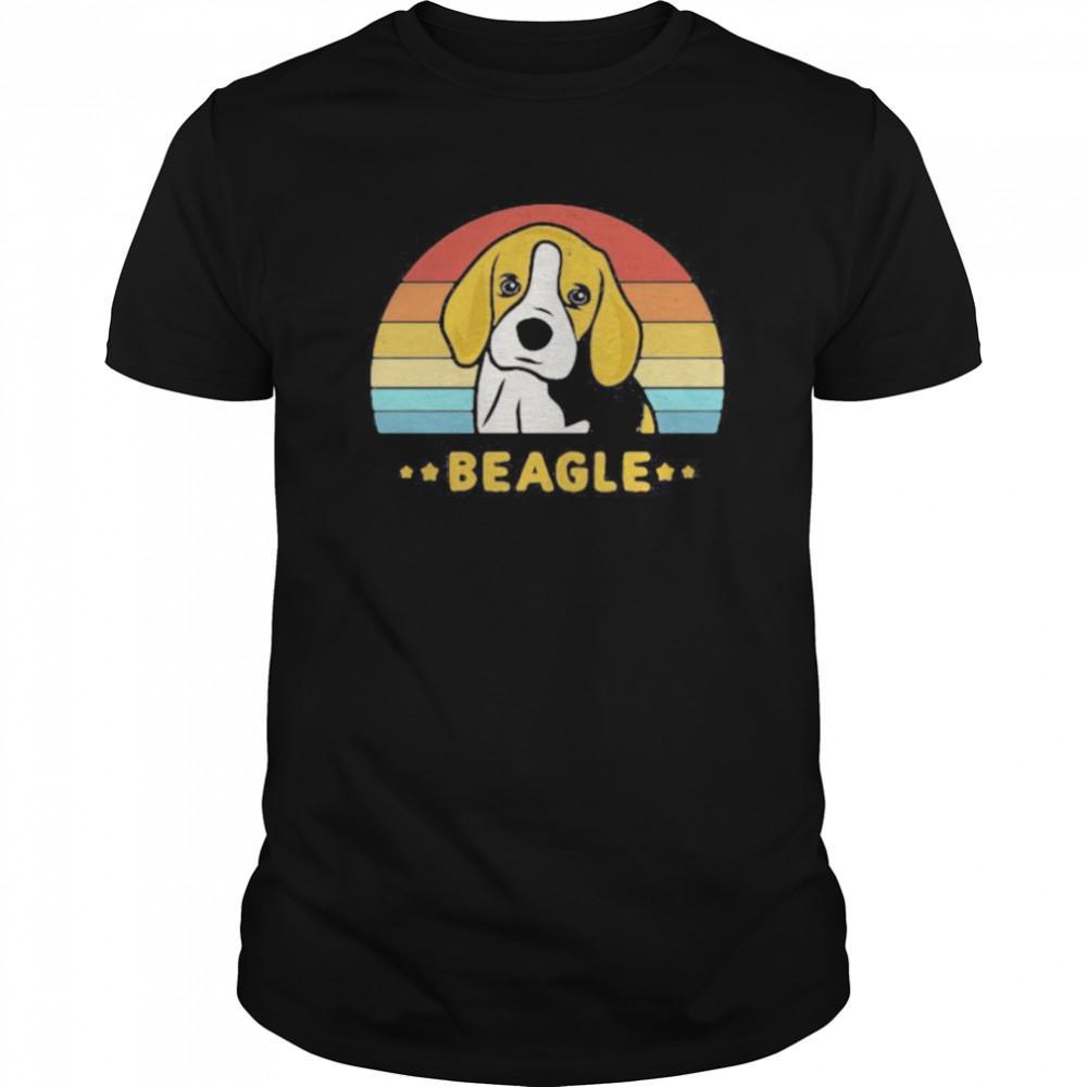 Beagle Vintage Retro shirt Classic Men's