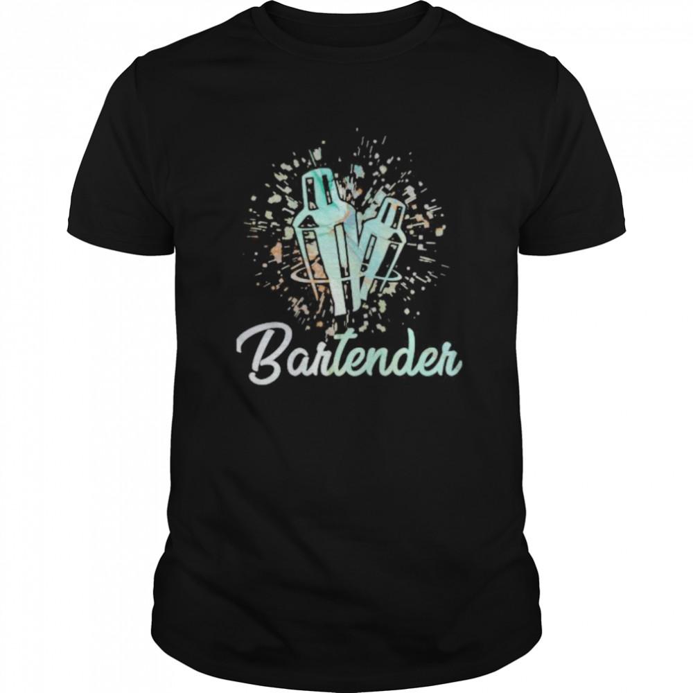 Serve drink bartender shirt Classic Men's