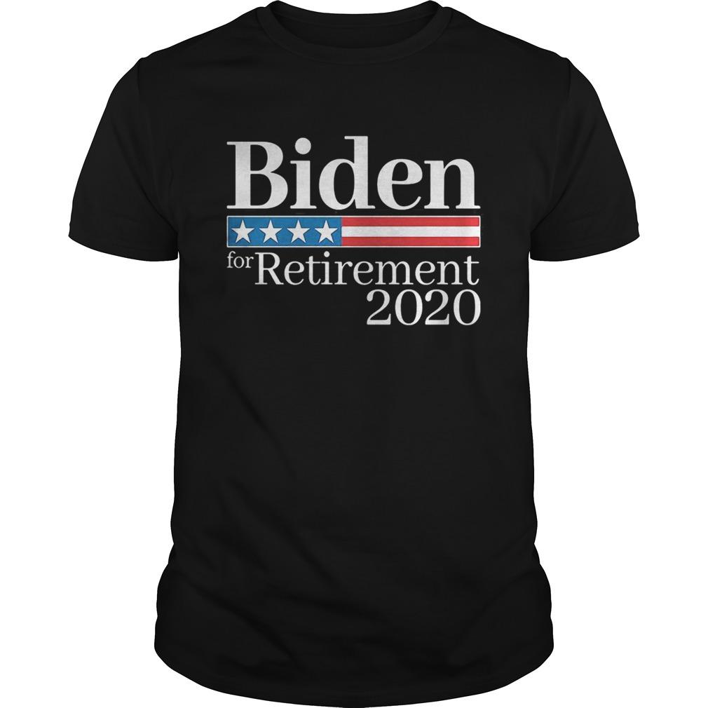 Biden for retirement 2020 shirt Classic Men's
