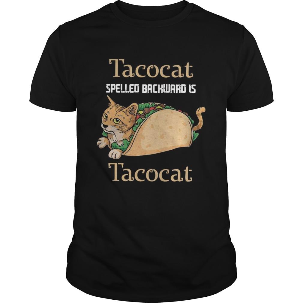 Tacocat Spelled Backward Is Tacocat shirt Classic Men's