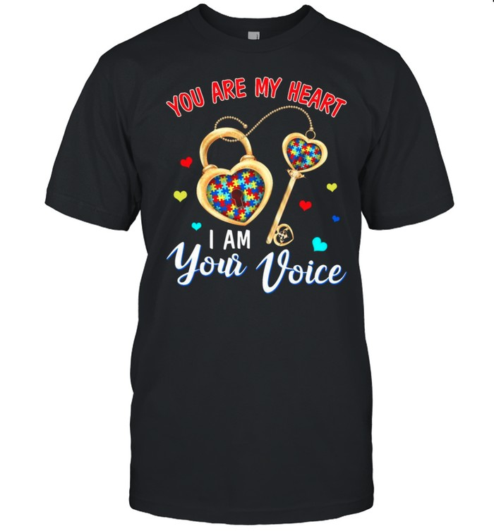 You Are My Heart I Am Your Voice shirt Classic Men's T-shirt