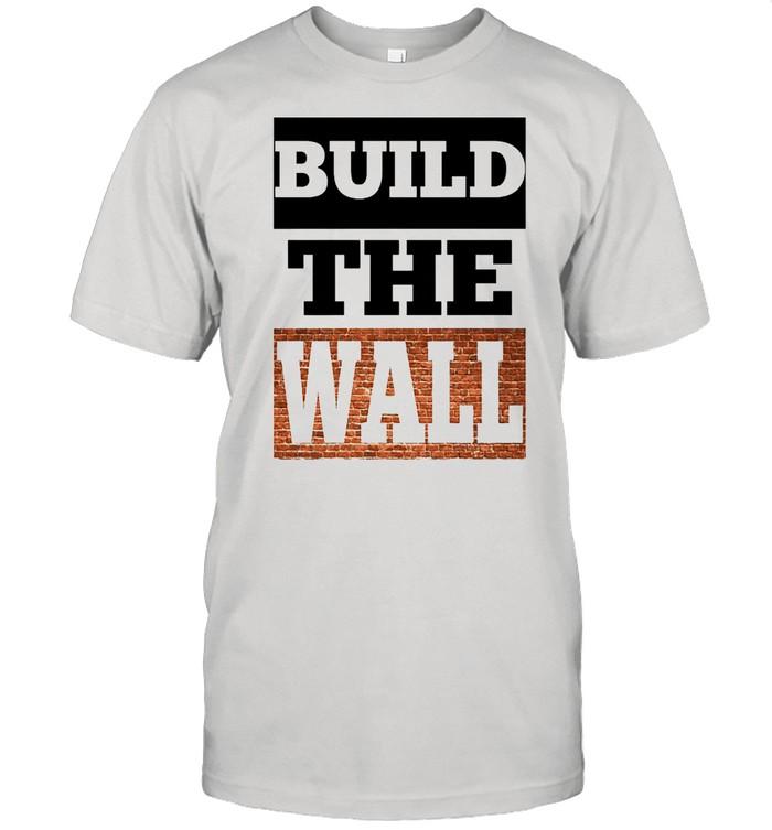Build the wall shirt Classic Men's T-shirt